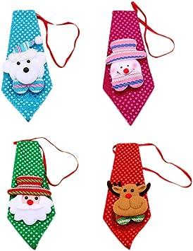 Toyvian Corbata de Navidad Decoraciones de Navidad Corbata Árbol ...
