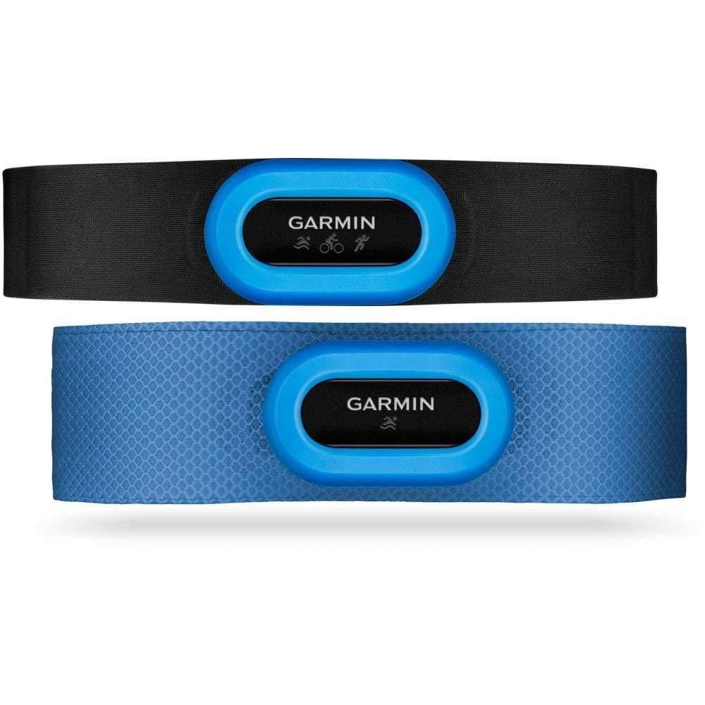 Garmin HRM-Tri/HRM-Swim Accessory Bundle Black/Blue, One Size