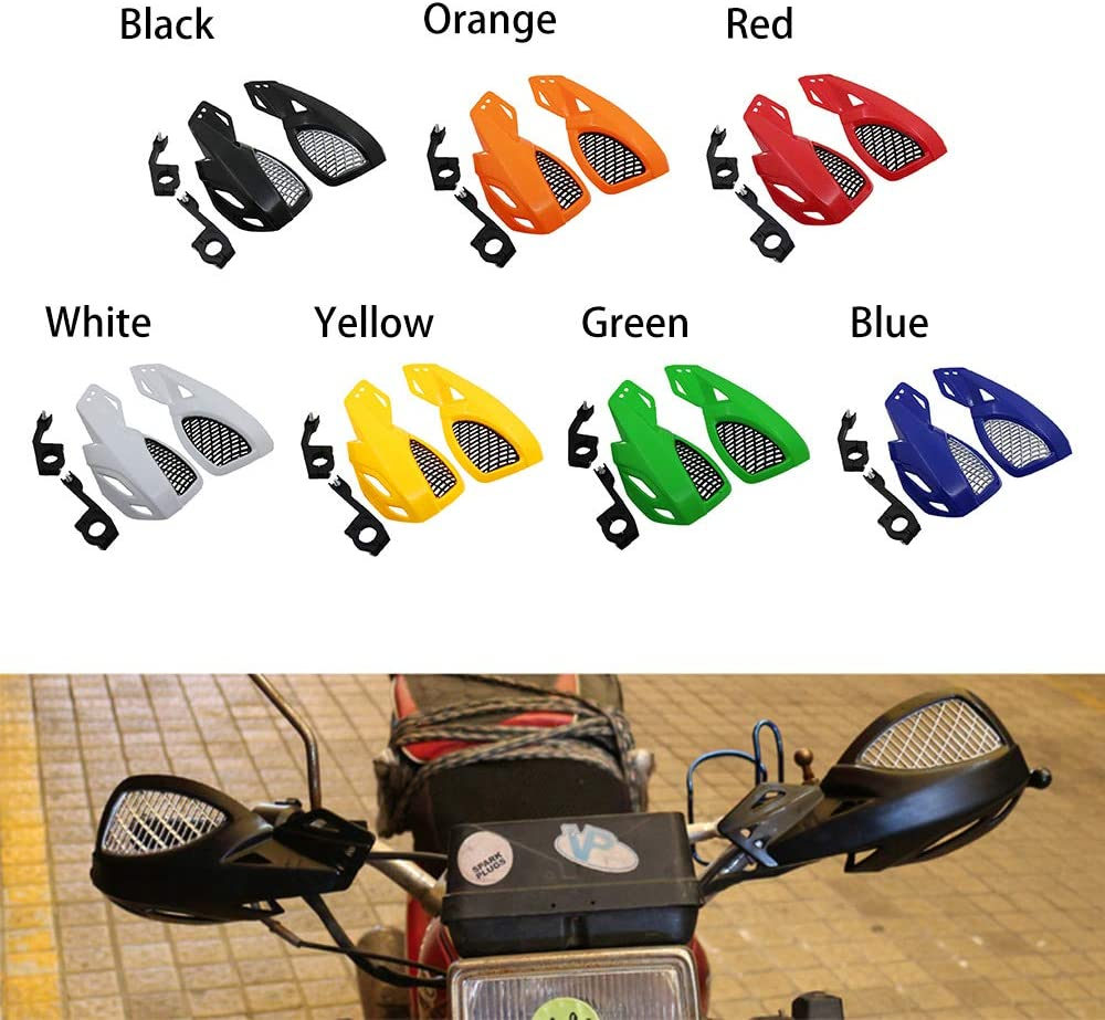 Hunt Gold Motorcycle Hand Guards Handguards With Mount Kit ABS 1 Pair For Outdoor Driving 7//8 Handlebars
