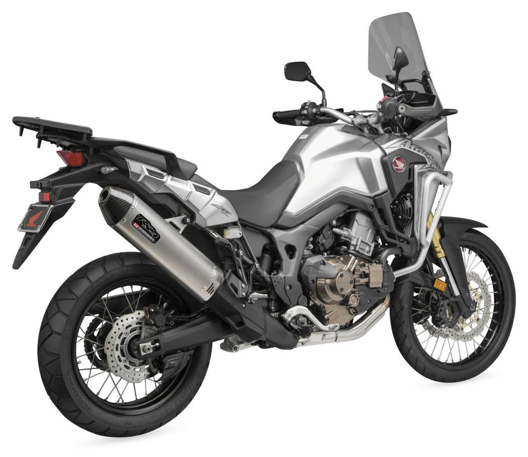 YOSHIMURA S/O RS4 SS/SS CF AFRICA TWIN 2016+ Works Finish