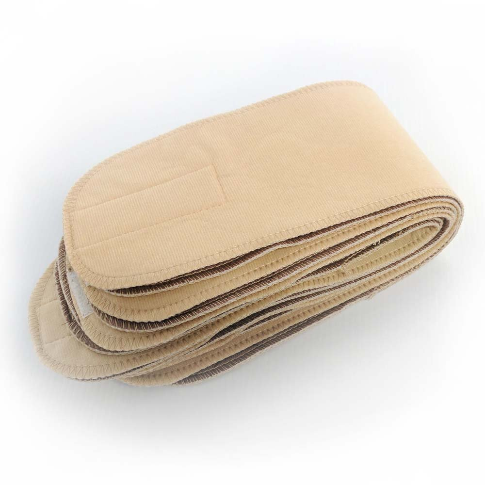 (8-Pack) EZwhelp Belly Band/Wrap, M, Tan