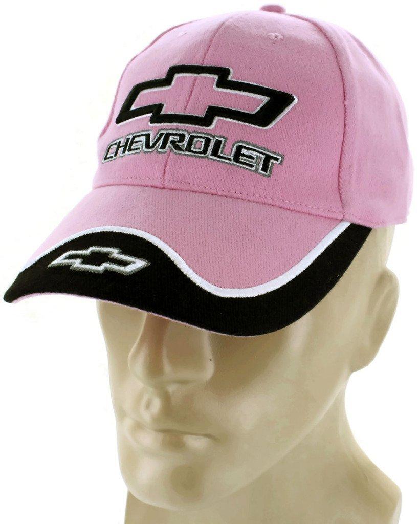 Chevrolet Bowtie Pink Baseball Cap Trucker Hat Snapback Camaro SS Impala DanteGTS