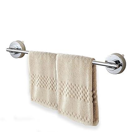 funrui toallero con ventosa acero inoxidable puerta toalla de pared para cocina y baño, 40 cm