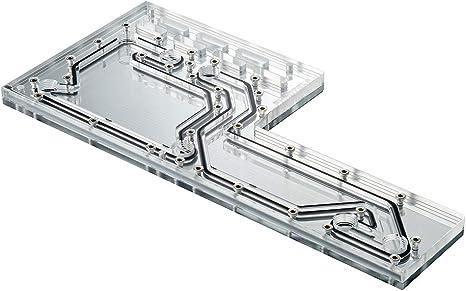 Phanteks D140 - Placa de distribución Espejo Acrílico Backplate ...