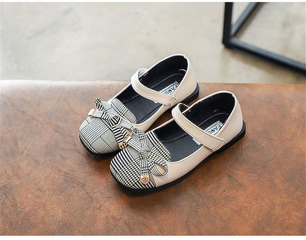 Mary Jane Bow Princess Shoes Girls Flats Cute Walking Shoes