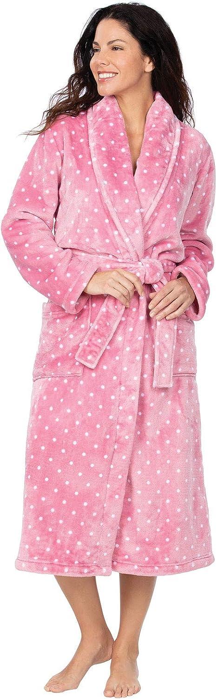 Addison Meadow Women's Bathrobe Comfy - Fleece Robes for Women