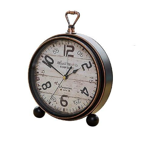 ZHAS Despertador LITING_Wang Retro Reloj Decoración Antiguo ...