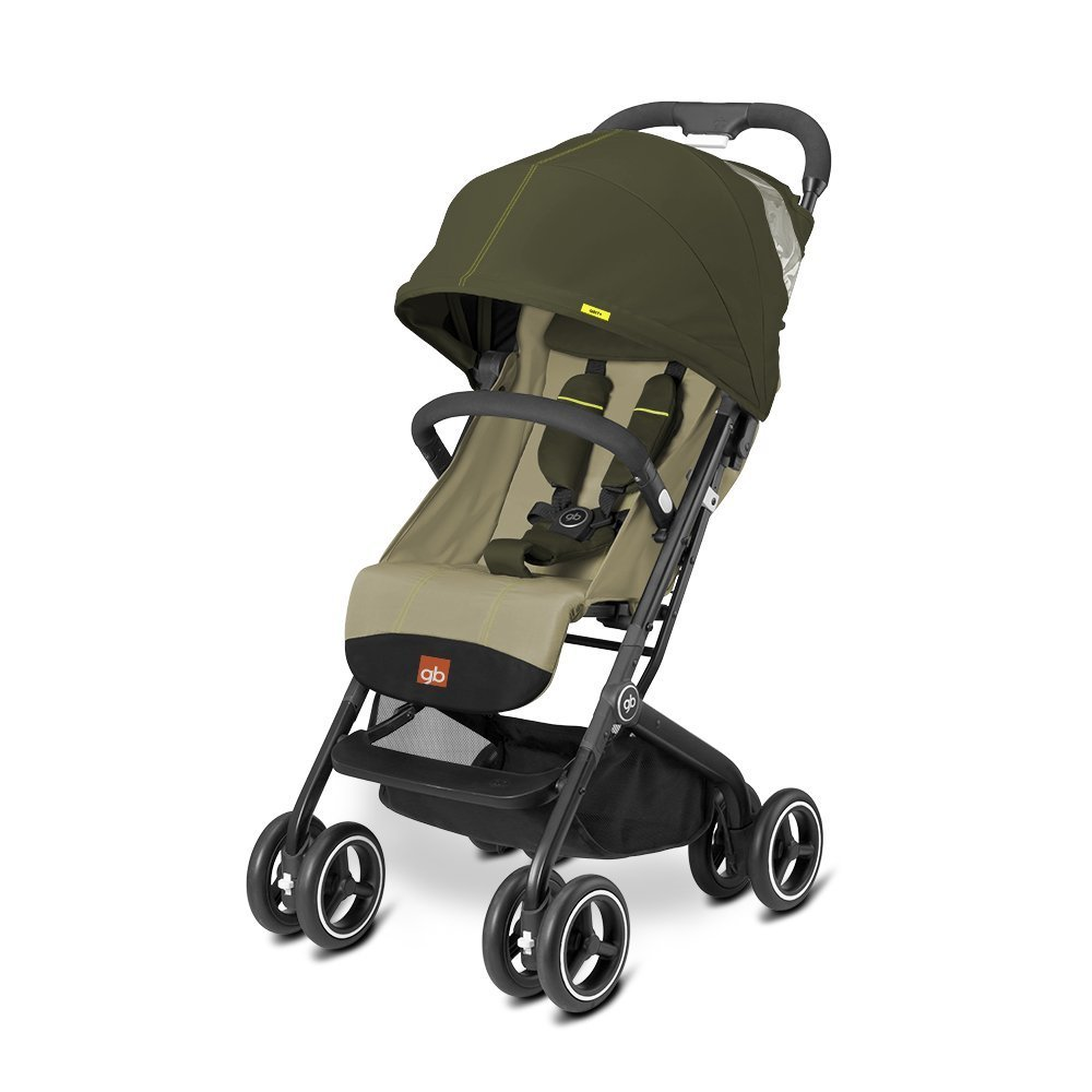 gb 2017 Buggy QBIT+ from birth up to 17 kg (approx. 4 years) Lizard Khaki - GoodBaby QBIT PLUS by gb (Image #1)