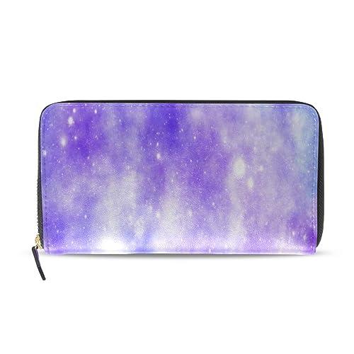 Unicornio Galaxy Universe Imprimir Pasaporte largo Embrague ...
