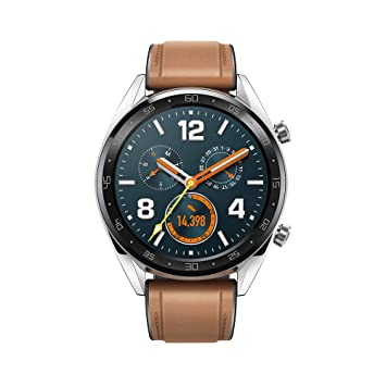 Huawei Watch GT Fashion - Reloj (TruSleep, GPS, monitoreo del ritmo cardiaco) color marrón: Amazon.es: Electrónica