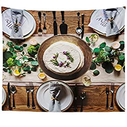 Westlake Art Wall Hanging Tapestry - Table Wedding - Photography Home Decor Living Room - 51x60in