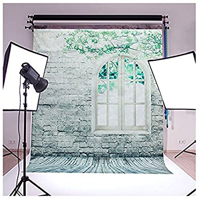 Brick Wall Wood floor Pictorial cloth Grade AAAAA Customized photography Backdrop Background Studio Prop