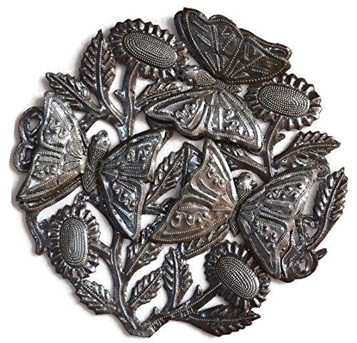 3D Butterfly Metal Garden Decor, Nature inspired, Handmade in Haiti 12