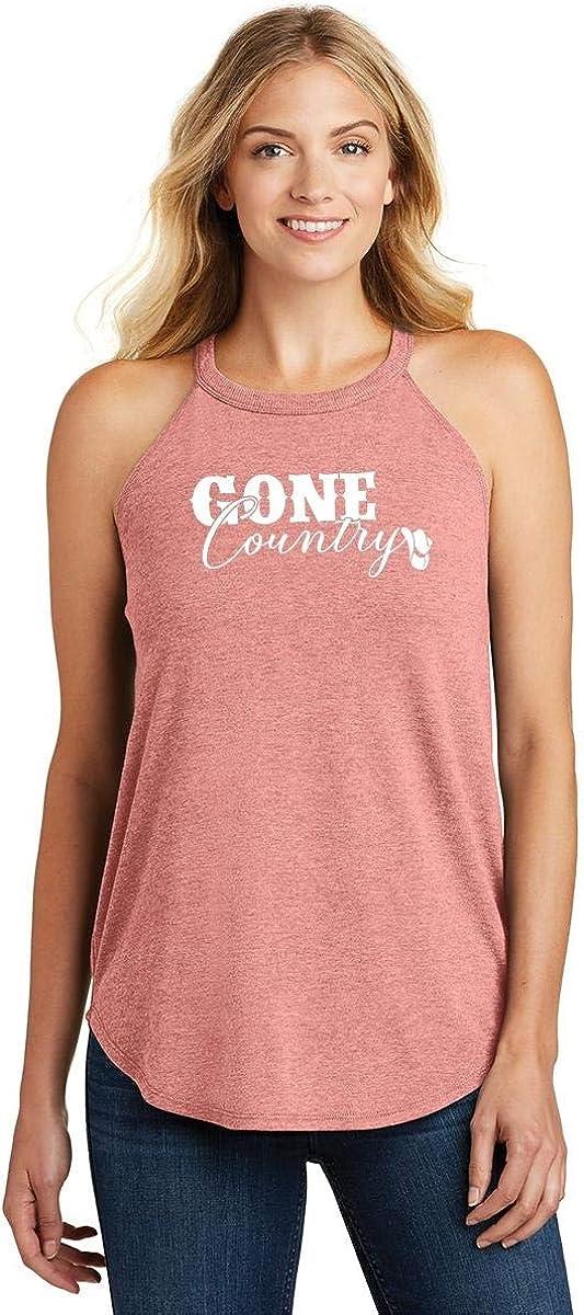 Comical Shirt Ladies Gone Country Rocker