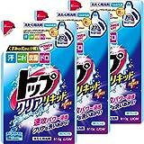 【まとめ買い】トップ クリアリキッド 洗濯洗剤 液体 詰め替え 810g×3個パック