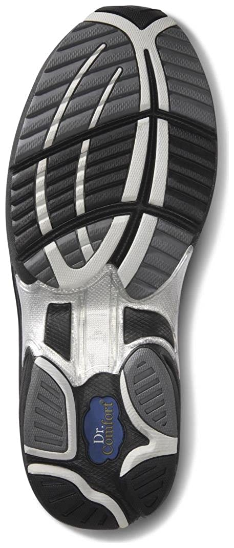 Comfort Mens Endurance Black Diabetic Athletic Shoes Dr