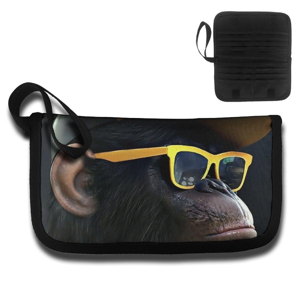 Gili Yellow Sunglasses Orangutan Travel Wallet Travel Passport & Document Organizer Zipper