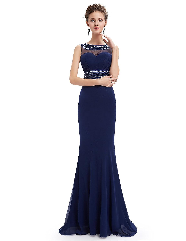 Ever Pretty Women's Elegant Sleeveness Long Evening Dress 08734
