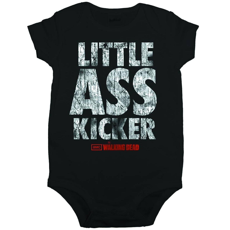 Amazon Walking Dead Little Ass Kicker Baby Romper Snapsuit
