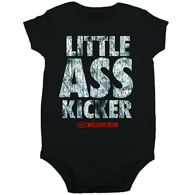 Walking Dead - Little Ass Kicker bebé Pelele Snapsuit: Amazon.es: Ropa y accesorios