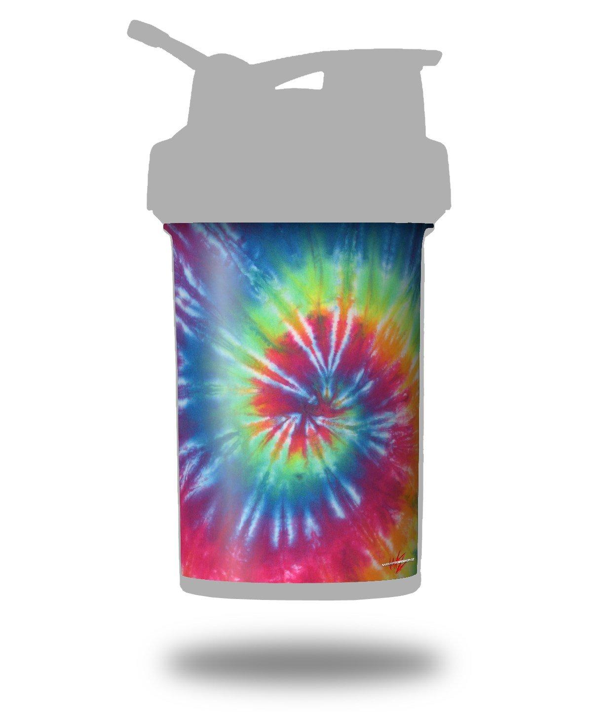 Tie Dye Swirl 104 – デカールスタイルスキンラップFits Blenderボトル22oz Prostak (ボトルは含まれません B06WRWDD2V