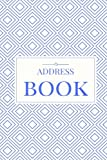 Blue Address Book: For Contacts, Addresses, Phone Numbers, Emails & Birthdays (Elite Address Book)