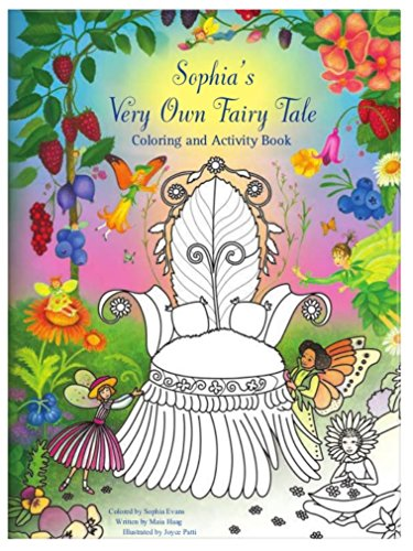 Personalized Coloring Activity Book Fairy