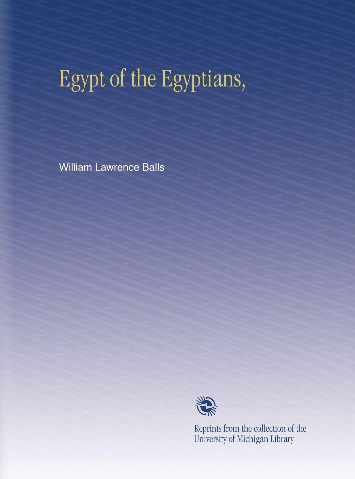 Egypt of the Egyptians, PDF