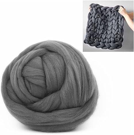 Bulky Yarns Wool Yarn Chunky Arm Knitting Super Soft Giant Ball Crocheting DIY