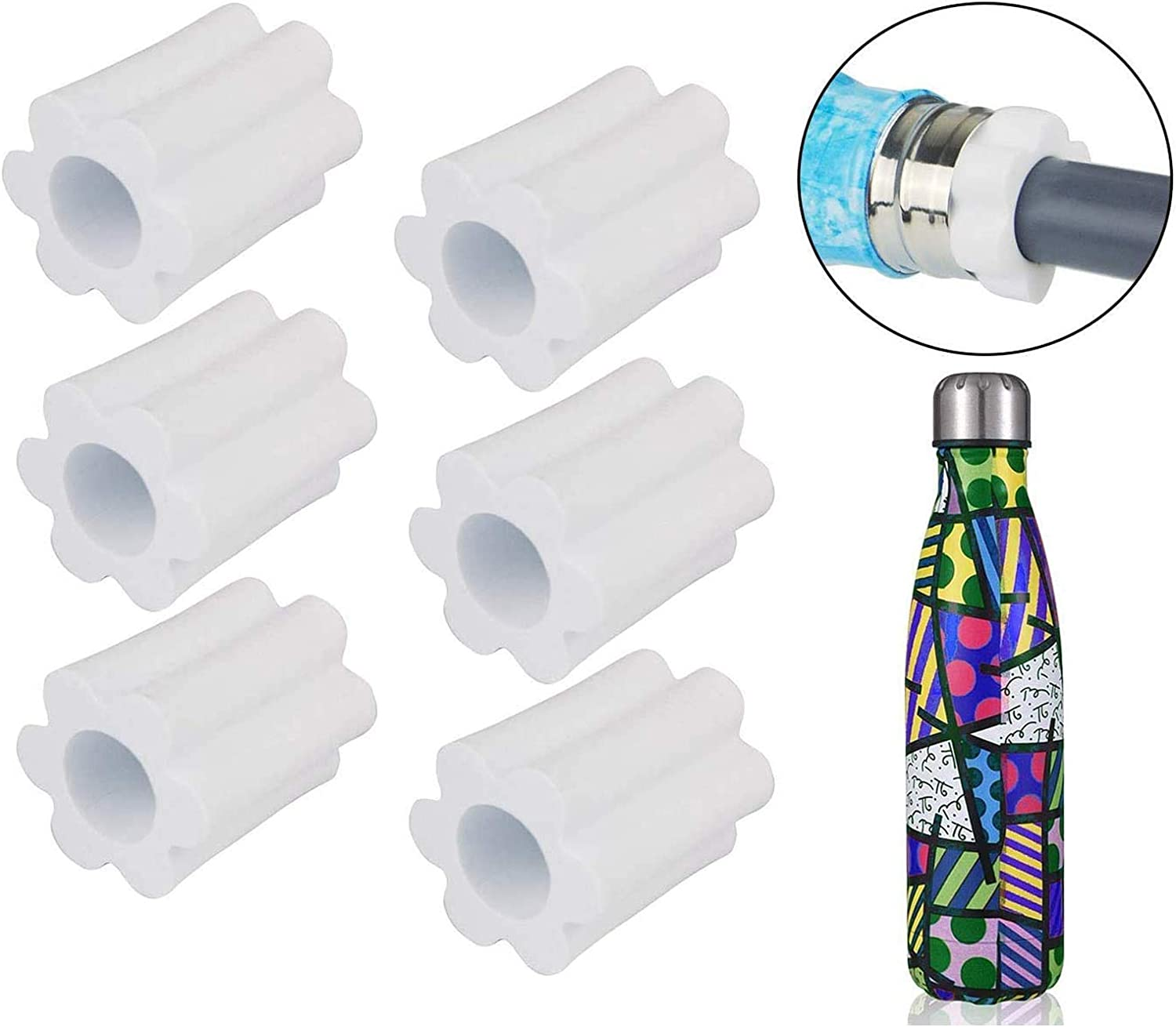 HLHGR Cup Turner Foam Set for/3//4 PVC Pipe /Cup Turner Inserts Accessories Tumbler Spinner Foams Fit 10 oz 20 oz 30 oz 40 oz and 12 17 25 oz Cola Shaped Water Bottles