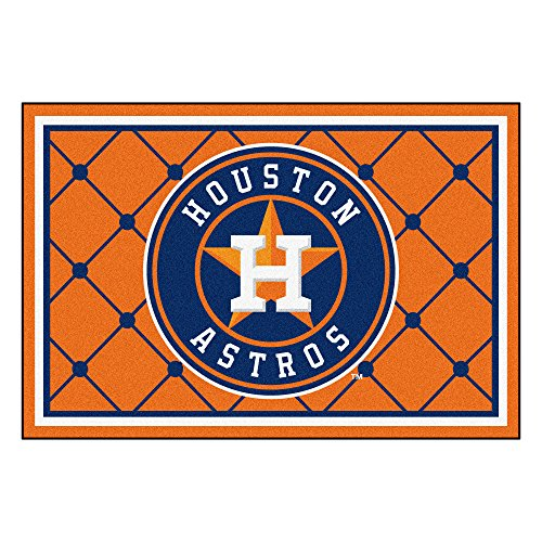 (FANMATS MLB Houston Astros Nylon Face 5X8 Plush Rug)