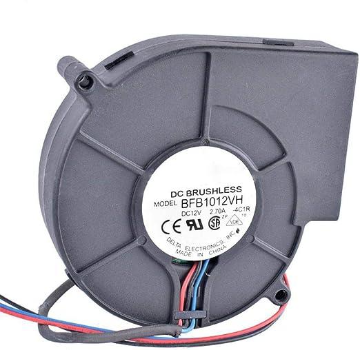 QWERTOUR Extractor centrífugo DC Turbo Ventilador de Ventilador de ...
