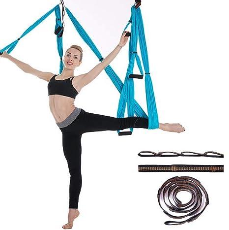 SQDYJ Equipo de Hamaca de Yoga aérea Avanzada, Accesorios de ...
