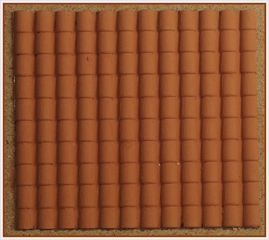 Rossi Rosa Tetto - Tetto (35 x 25 cm), color marrón