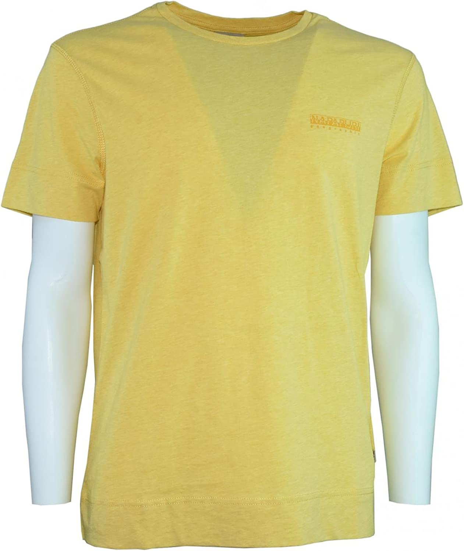 NAPAPIJRI hombres de la camiseta de manga corta N0YHD0Y1M SHEW AMARILLO XL Giallo: Amazon.es: Ropa y accesorios