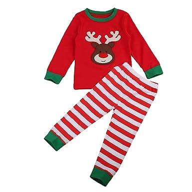 1a3327f57158 Amazon.com  Little Boys 2 Pcs Set Striped Long Sleeve T shirt + Gray Harem  Pants Outfits  Clothing