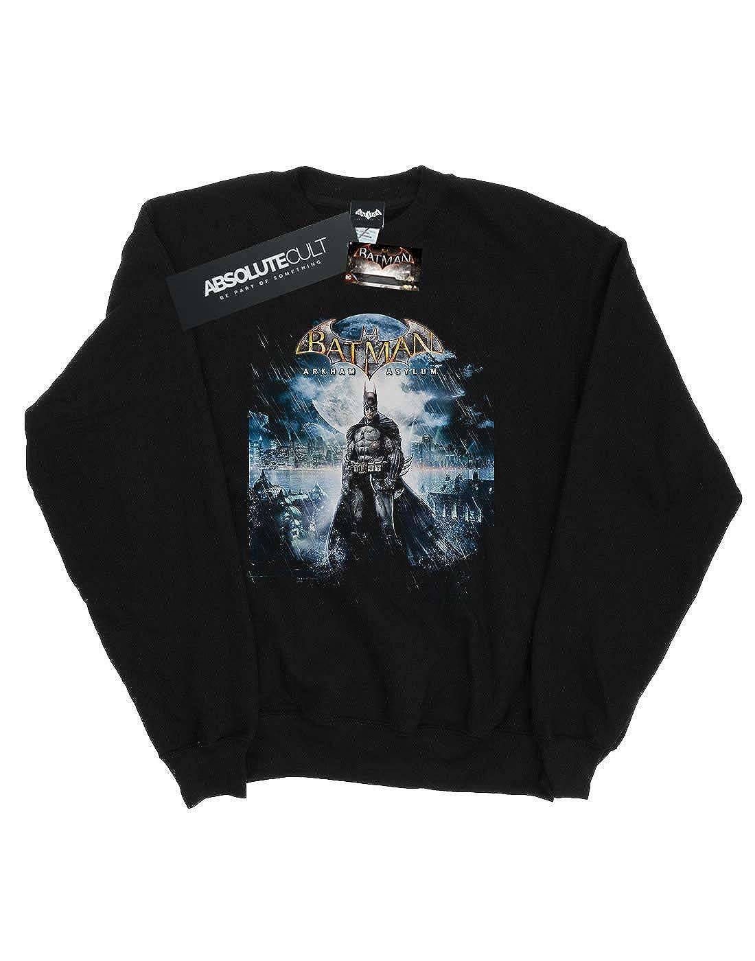 DC Comics Girls Batman Arkham Asylum Pale Moonlight Sweatshirt