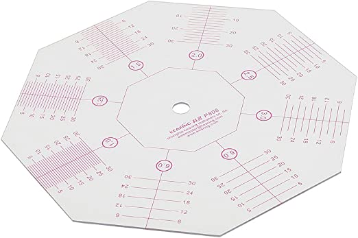 7 Choice of Size Acrylic Circle Quilt Template