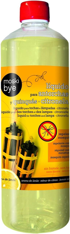 Flower 20551 20551-Liquido para antorchas y quinqués citronela, No Aplica, 7.5x7.5x25.5 cm