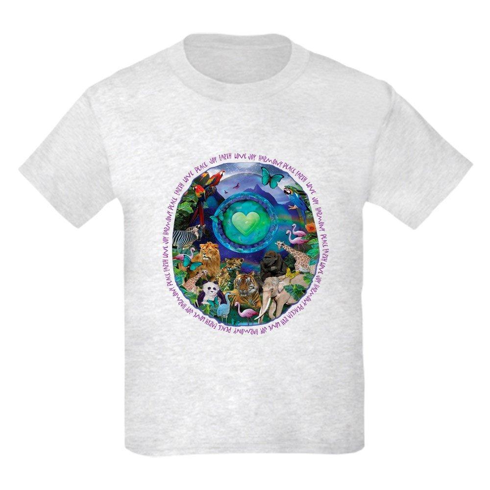 CafePress Youth Kids Cotton T-shirt Eco Planet Animal Rainforest T-Shirt