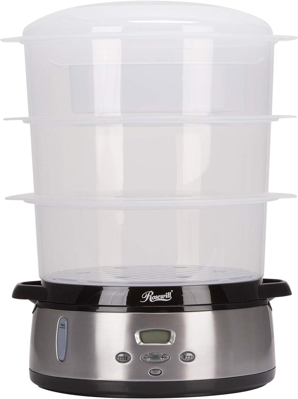 Rosewill RHST-20001 9.5-Quart (9L), 3-Tier Digital Food Steamer