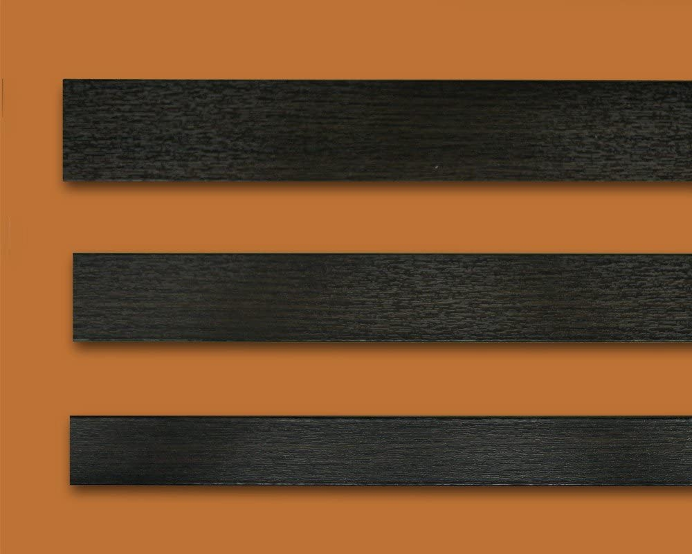 Fensterleiste Eiche Dunkel 50 mm breit 6m lang Flachleiste Abdeckleiste Dekor Leiste farbig