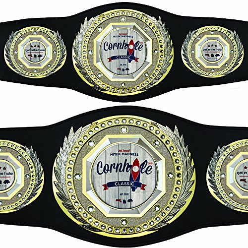 Custom Champion Presidential Award Belt with your personalized artwork by TrophyPartner