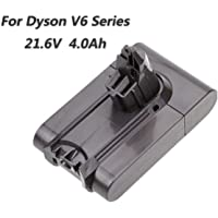Battery for Dyson V6 Series DC58 DC59 DC61 DC62 DC72 DC74 SV03 SV05 SV06 SV07 SV09 Animal Portable Vacuum Li-ion 4000mAh 21.6V