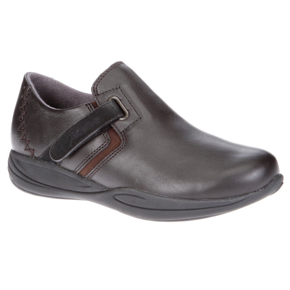 Xelero Visalia Women's Comfort Therapeutic Extra Depth Casual Shoe: Brown 10.5 Wide (D) Velcro by Xelero (Image #1)