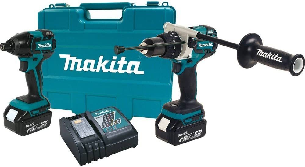 Makita XT257T 18V LXT Lithium-Ion Brushless Cordless Combo Kit, 2-Piece Discontinued by Manufacturer