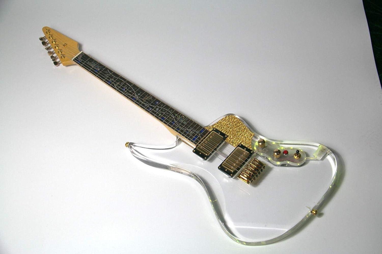 FidgetFidget Guitarra eléctrica con luz LED, 9 tipos, color LED ...