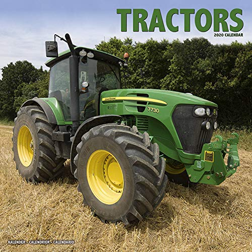 Farm Tractor Calendar- Classic Tractor Calendar - Antique Tractor Calendar - Calendars 2019 - 2020 Wall Calendars - John Deere Calendar - Tractors 16 ... Calendar by Avonside (Multilingual Edition) (Deere John Tractors Antique)