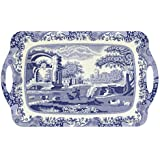 Pimpernel Blue Italian Large Melamine Handled Tray (2019518337)