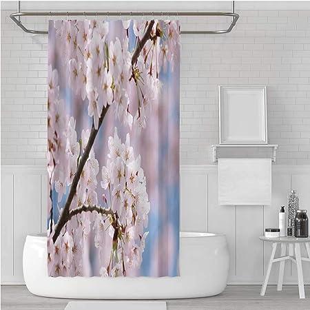 TecBillion cortina de ducha impermeable para decoración de ...